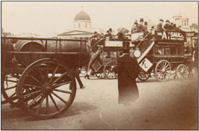 Carriages on Street