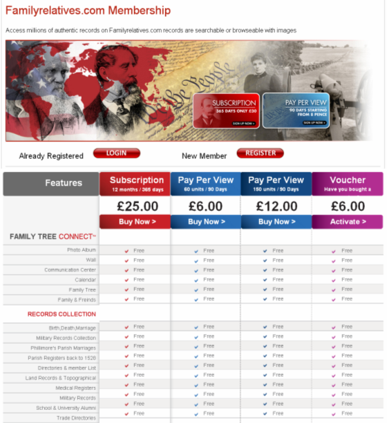 Our New Pricing Page - Easy to view