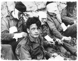 Army Casualties on the beaches 6 June 1944